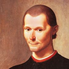 Painting of Niccolo Machiavelli